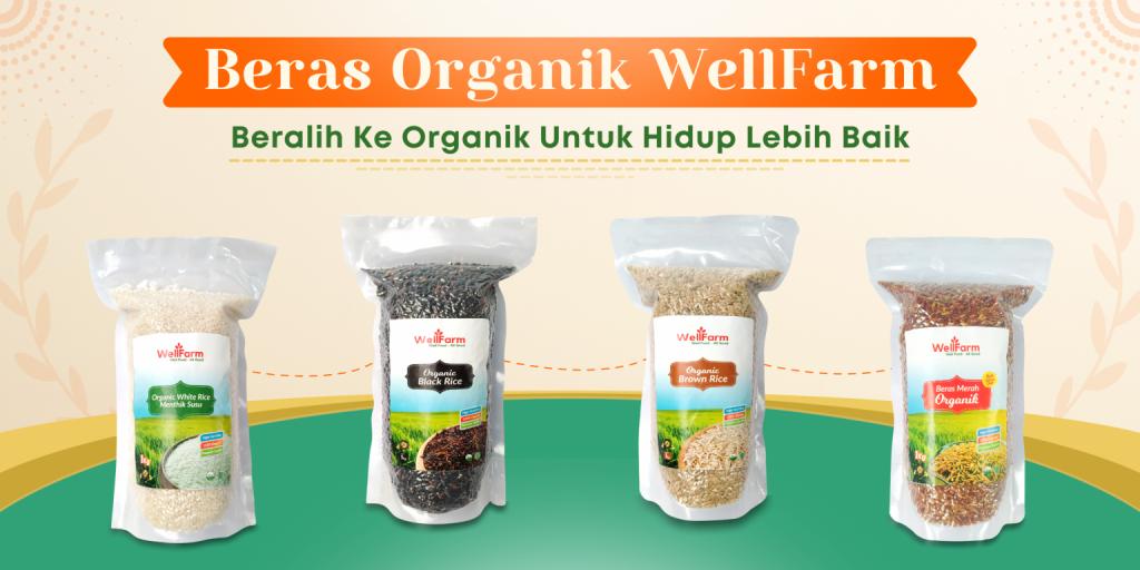 beli beras organik
